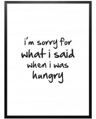 hungry-Mottos-by-Sinan-Saydik-Poster