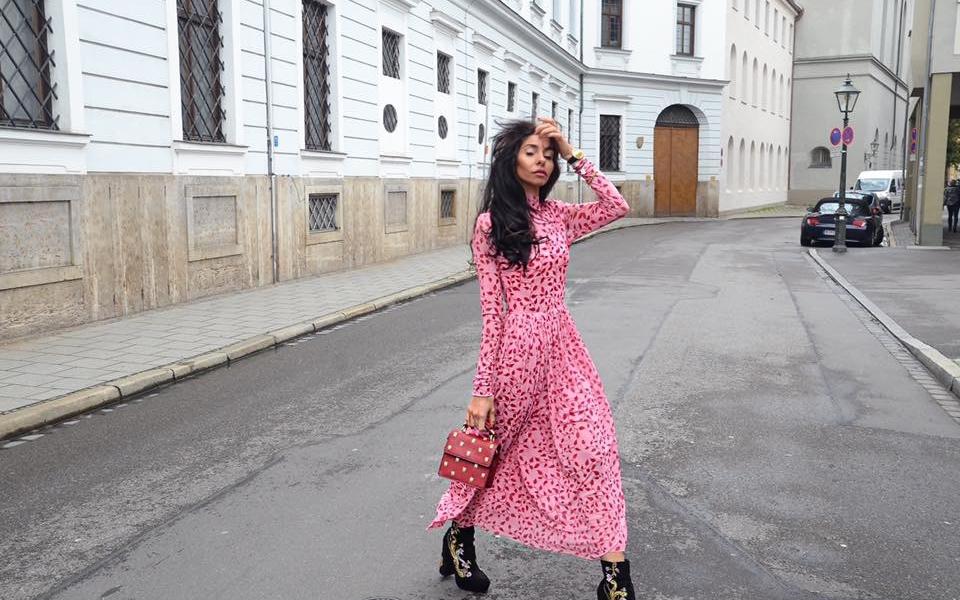 Herbsttrend: Lieblingsboots + Maxi Dress